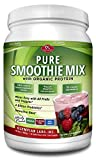 Olympian Labs Pure Smoothie Mix with Organic Vegan Protein and Added Probiotics, Vitamins, Minerals, CLA, & Flax