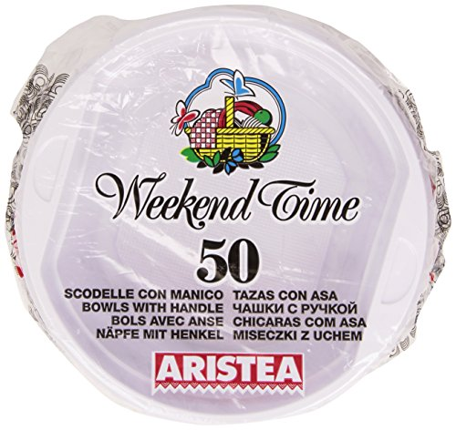 Weekend Time - Scodelle, con Manico - 50 pezzi