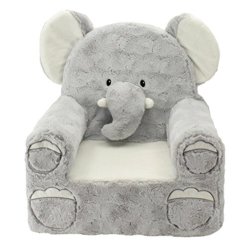 Animal Adventure Sweet Seats Plush Elephant Chair Kids' Furniture