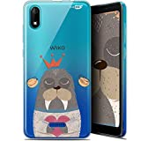 Sketchy Walrus Ultra Slim Case for 5.45 Inch Wiko Tommy 3