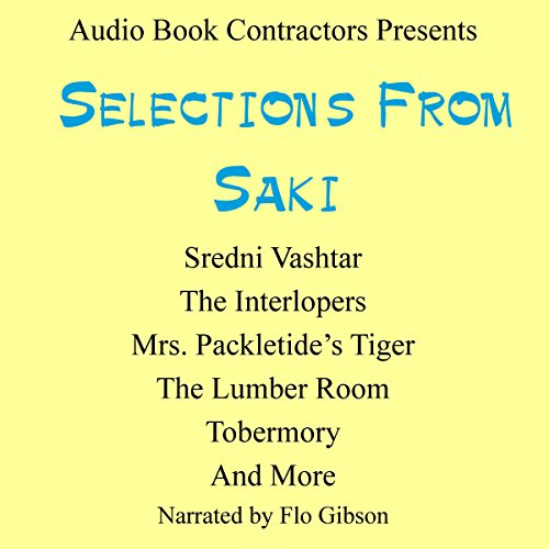 Selections from Saki audiobook cover art