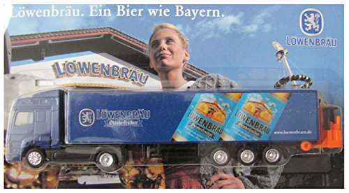 Löwenbräu München Nr.14 - Oktoberfestbier - MB Axor - Sattelzug mit Stapler