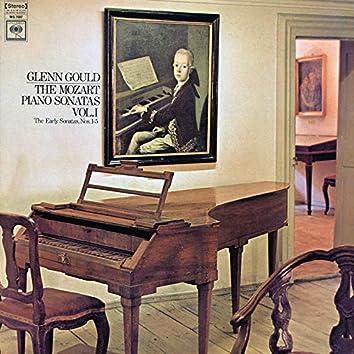 Mozart: Piano Sonatas Nos. 1-5 ((Gould Remastered))