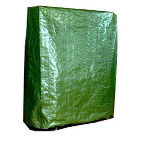 Kronenburg Schutzhülle Tischtennisplatte Tischtennis Abdeckhaube, Grün, 182 x 160 x 55 cm - Abdeckung für Gartenmöbel - weitere Schutzhüllen wählbar