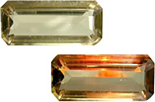 Deluxe Gems 4.60 ct Octagon Cut (15 x 7 mm) Unheated/Untreated Turkish Color Change Diaspore Natural Loose Gemstone