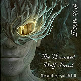 The Harrowed Half-Breed: A Tarnished Lands Story audiobook cover art