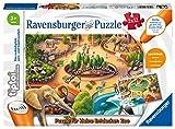 Ravensburger tiptoi 00051 - Puzzle für kleine Entdecker: Zoo / 2x12 Teile Puzzle von Ravensburger ab 3 Jahren