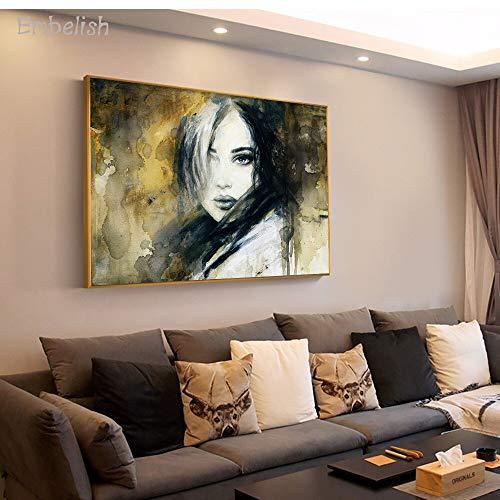 baodanla Rahmenlose ölgemälde Embelish Stil The Loner Cool Modern Artworts Für Wohnzimmer Hd Druck Auf Leinwand NGS Home Deco60x90cm