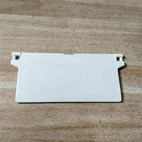 paletur88 Persiana Vertical Repuestos 10 Piezas Blanco Reparación Clips Fácil Instalación Inferior Repuesto Conector Ventana Cortina...