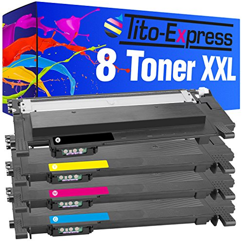 PlatinumSeries 8 Toner XXL compatible con Samsung CLT-404S Xpress C430 C430W C480...