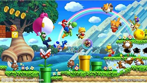 Fondo De Pantalla Personalizado Para Niños Super Mario Animation, Murales Modernos En 3d Para Sala De Estar Sofá Habitación Infantil Papel Tapiz De Vinilo De Pared