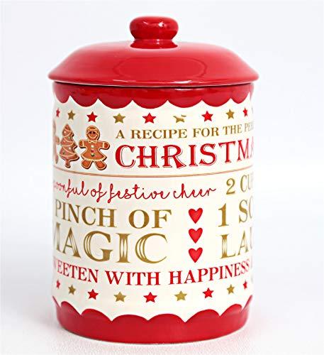 Caths Direct Festliches Lebkuchenrezept aus Keramik