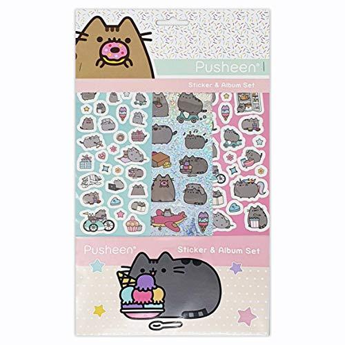 Pusheen Sticker Album 6 Sheets