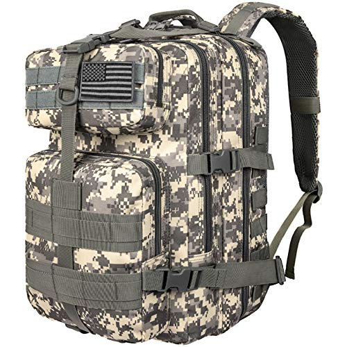 CVLIFE Military Tactical Backpack 40L Army Rucksack 6 Day Assault Pack Molle Bag …