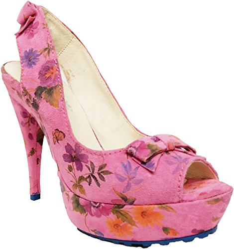 Tiggers Pumps, exlusive Disigne, 12cm Absatz, pink Gr.39