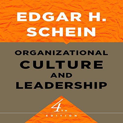 Organizational Culture and Leadership audiobook cover art