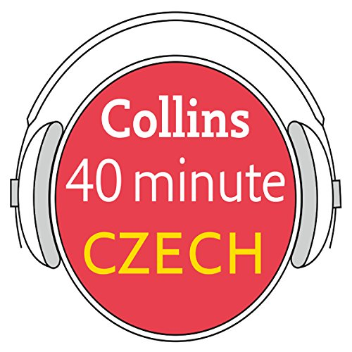 Czech in 40 Minutes audiobook cover art