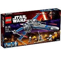 Construis le X-Wing Fighter de Poe, avec ses ailes qui s'ouvrent et ses 4 fusils à ressorts Rejoue des scènes du film Star Wars : Episode VII, Le Réveil de la Force Inclut 3 figurines : Poe Dameron, Lor San Tekka et un Flametrooper du Premier Ordre, ...
