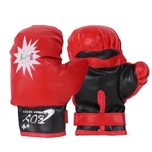 Per Guantes de Boxeo para Niños Guantes de Entretenimiento de Boxeo Infantiles de Puro Algodón Juguetes Deportivos