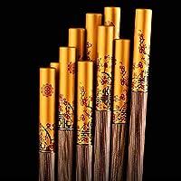 CENPEN 箸チキンウイング木製の箸ソリッドウッドハイグレードマホガニー箸10ペア 箸