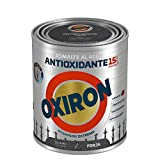 Titanlux - Oxiron forja al agua, Gris Acero, 750ML (ref. 01F020234)