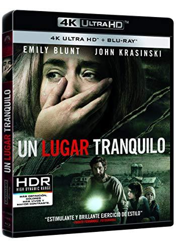 Un Lugar Tranquilo (4K UHD + BD) [Blu-ray]