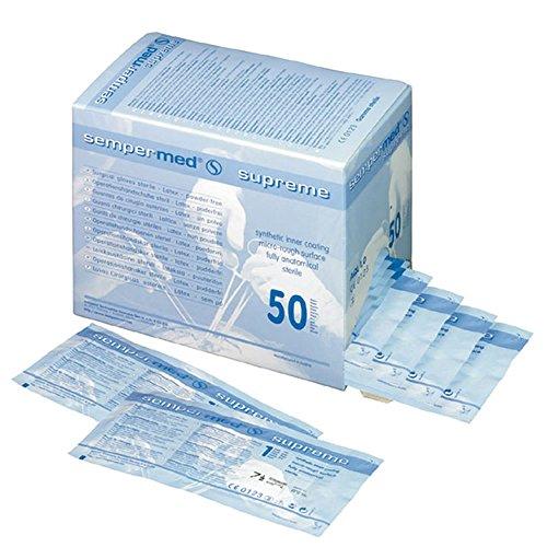 Handschuhe Cirugía Latex puderfrei Supreme T. 8-Caja 50u