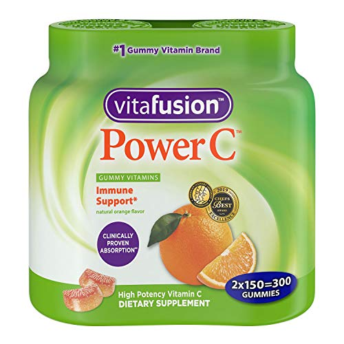 Power C Gummy Vitamins for Adults, 2 Pack (150-Count)