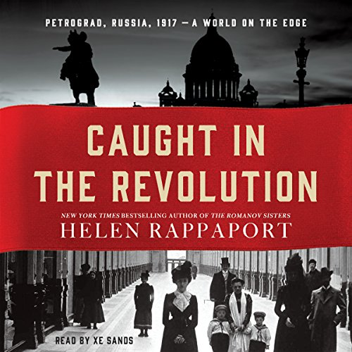 Caught in the Revolution audiobook cover art