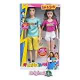 Sofì e Luì Fashion Doll articolate 30 cm vestizione estiva Fashion doll articolate dei Me Contro Te per tante possibilità di gioco Sofì e Luì Fashion Doll 30 cm Sofì e Luì le webstar preferite dalle bambine in versione fashion doll Le bambine potrann...
