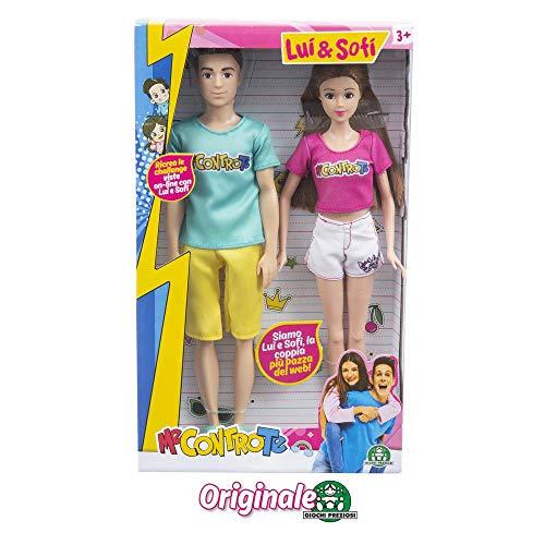 Giochi Preziosi- Me Contro Te Sofì e Luì Fashion Doll Coppia, Multicolore, MEC33000