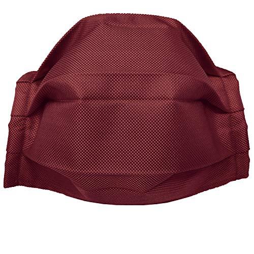 BRUCLE Filtermaske aus Seide für die Allgemeinheit, Rot onesize