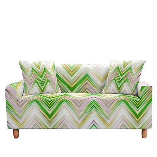 Vlejoy Cubierta Sofa con Cuerda De Fijación Sillón Seccional con Funda para Sala De Estar Decoración Navideña Funda De Sofá Elástica Elástica Color Z_4 Plazas (235-300cm)