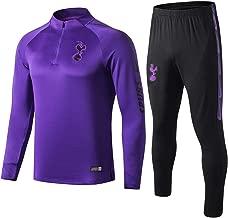 WigColtd Sportbekleidung Club Sport Trainingsanzug Jacke Herren Langarm Trainingsanzug Anzug Langarm Pullover Bein Hose