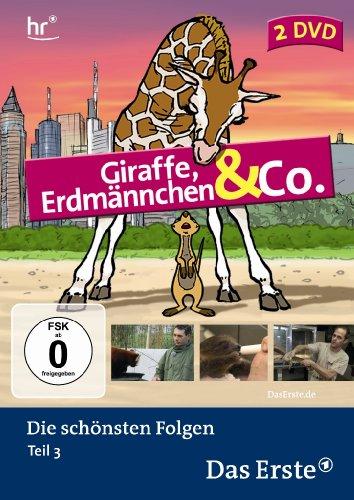 Giraffe, Erdmännchen & Co.: Die schönsten Folgen - Teil 3 (2 DVDs)