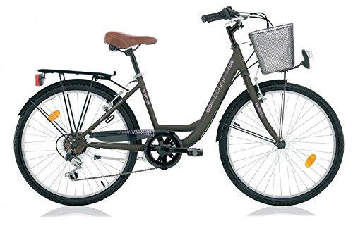 Frank Bikes 24 Zoll Damen Kinder City Fahrrad Cityfahrrad Mädchenfahrrad CITYRAD Rad Bike Donna Lady