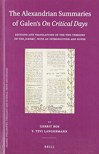 The Alexandrian Summaries of Galen