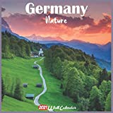 Germany Nature 2021 Wall Calendar: Official Germany Nature Calendar 2021, 18 Months