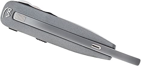 VXI BlueParrott 203401 Reveal Compact 91% Noise Canceling Bluetooth Headset w/Extendable Boom (Silver)
