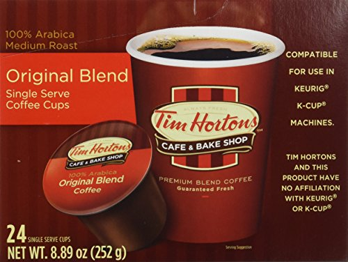 Tim Hortons Single Serve Coffee 96 Count - Packaging May Vary