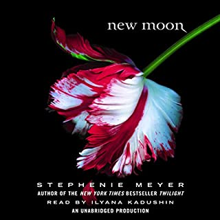 New Moon     The Twilight Saga, Book 2              Written by:                                                                                                                                 Stephenie Meyer                               Narrated by:                                                                                                                                 Ilyana Kadushin                      Length: 14 hrs and 50 mins     29 ratings     Overall 4.5