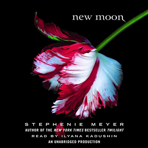 New Moon     The Twilight Saga, Book 2              By:                                                                                                                                 Stephenie Meyer                               Narrated by:                                                                                                                                 Ilyana Kadushin                      Length: 14 hrs and 50 mins     10,097 ratings     Overall 4.5