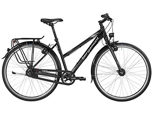 Bergamont Vitess N8 Damen Trekking Fahrrad schwarz/grau/silber 2016: Größe: 44cm (158-164cm)