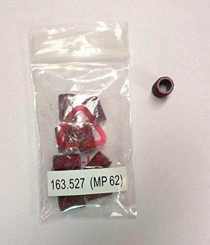 Beurer 163.527 Sandpapier Einwegaufsätze 10 Stück für MP62 Ersatzteil für Maniküre- Pediküreset