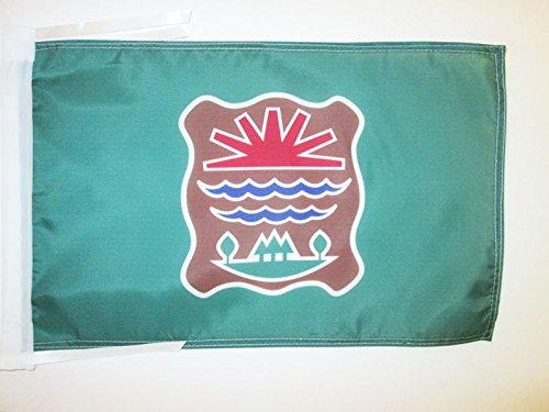 AZ FLAG Drapeau Abénaquis de l'est du Québec 45x30cm - PAVILLON amérindien 30 x 45 cm Haute qualité