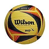 Wilson Ballon de volleyball OPTX AVP VB REPLICA, jaune, taille officielle