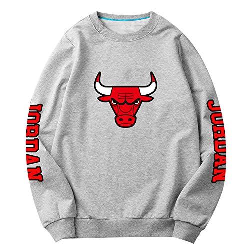 HEJX Sudadera de Baloncesto Bulls Jordan