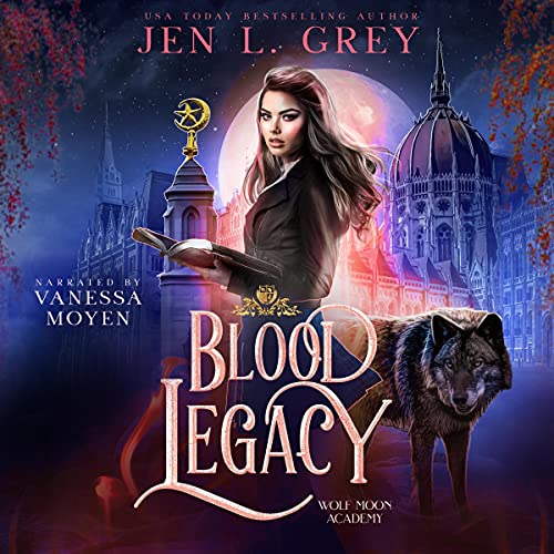 Blood Legacy Audiobook By Jen L. Grey cover art