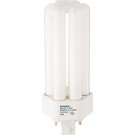 10 Pack Sylvania 20879 CF26DT//E//IN//827//ECO 26-Watt 2700K 4-Pin Triple Tube Compact Fluorescent Lamp