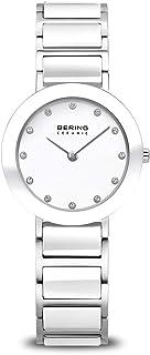 ساعة BERING النسائية التناظرية كوارتز مع حزام من الفولاذ المقاوم للصدأ
